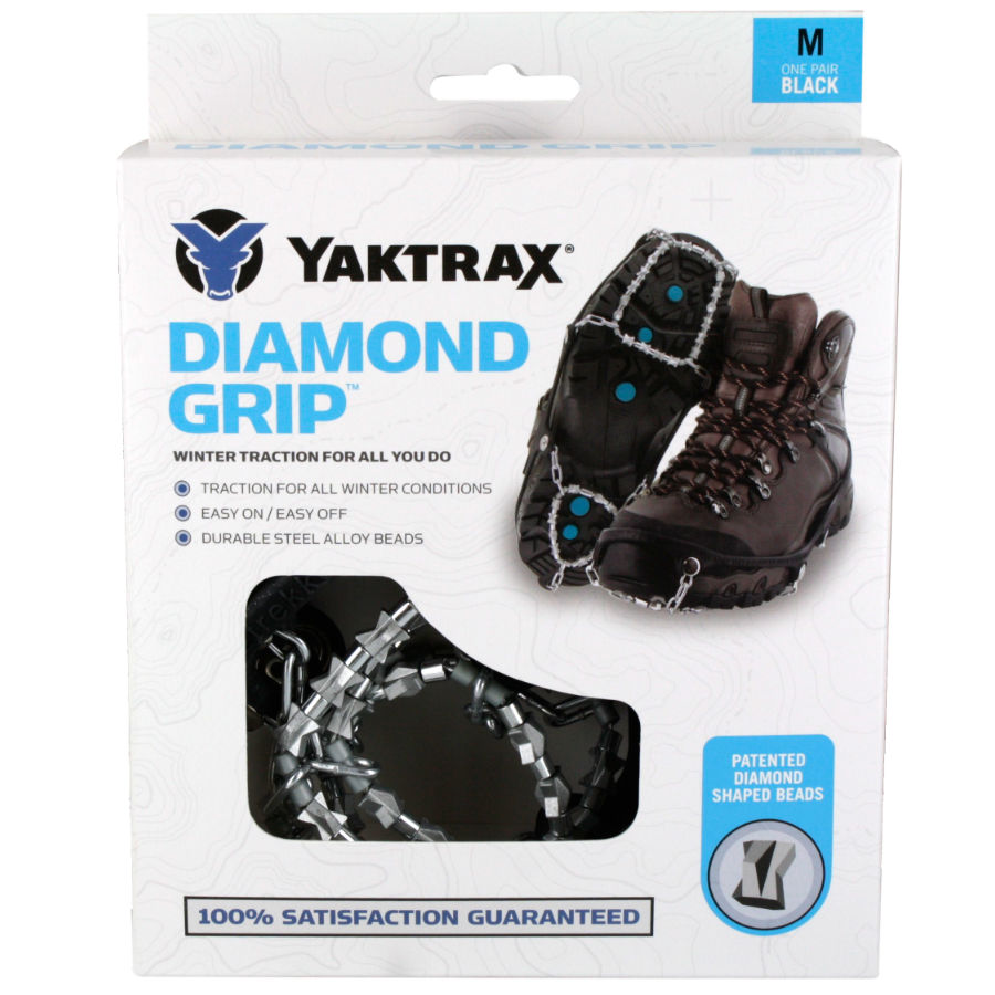 Yaktrax® Diamond Grips